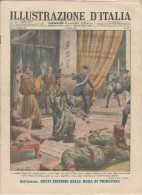 1946 Italian Magazine Opium Den At Rome Fumeria Di Oppio A Roma + Evacuation Of Bikini Atoll Atomic Bomb Test - Avant 1900