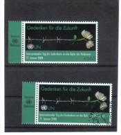 KPÖ348 UNO 2008 WIEN-521  HOLOCAUST-GEDENKTAG ** Postfrisch + Used / Gestempelt - Wien - Internationales Zentrum
