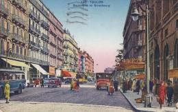 146TOULON....................................boulevard De Strasbourg.....................timbree - Toulon