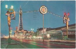 GB - La - Sportsview, Blackpool Illuminations - The Photographic Greetings Card Co. Ltd. N° 459 (circ. 1966) - Blackpool