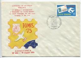 Romanian Postmark -  Exhibition Tomis '75 - Marcophilie