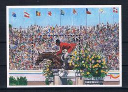 Dominica 1996 Pferde/Olympia Block 311 **