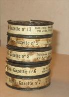 5 films Path�-Baby 9,5mm - Actualit�s de l�ann�e 1933 ... en �tat ...