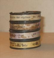 4 films Path�-Baby 9,5mm - Divers sujets de vulgarisation technique  - Ann�es 1933/34  ... en �tat ...