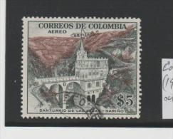 Columbia  Mi.Nr. 683 (1954) Church At  Narino - Kolumbien
