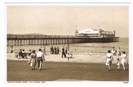 RB 1037 -  Postcard - The Grand Pier - Weston-Super-Mare Somerset - Weston-Super-Mare
