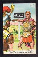 """Illustrateur Dessin (O) Ordner Paul -  N° 1417  - César : """" Va Me Chercher Une Gauloise """" ( Soldats Romains ) - Ordner, P."""