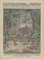 Rivista Del 1944 Invasione Giapponese ASSAM E MANIPUR India +  Eruzione Del VESUVIO - Vor 1900