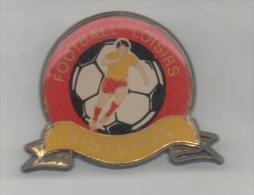 PINS PIN'S FOOT FOOTBALL SISTERON - Voetbal