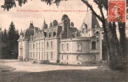 61 DANCE LE CHATEAU DE LA BEUVRIERE CIRCULEE 1908 - Francia