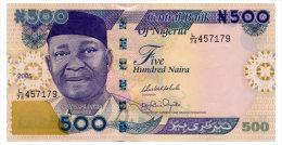 NIGERIA 500 NAIRA 2005 Pick 30d Unc - Nigeria