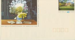 AUSTRALIA'S FIRST SCHOOL OF HORTICULTURE  BURNLEY  CAMPUS            (NUOVA.) - Interi Postali