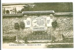 SAINT NOM LA BRETECHE - Monument Aux Morts - St. Nom La Breteche