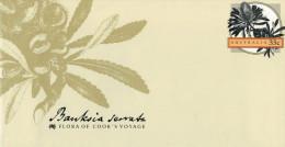FLORA  OF COOK'S VOYAGE:     BANKSIA  SERRATA    (NUOVA.) - Interi Postali