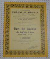 Sa De L'Alcazar De Marseille - Cinéma & Théatre