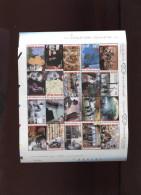 Belgie Blok BL87 TYPE B 'snijblok Links' Vietnam Germany Brecht Joyce Bartok Warhol Toots  MNH 2001 - Blocks & Sheetlets 1962-....