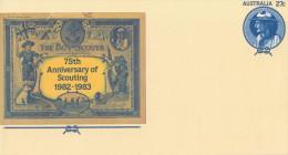 75° ANNIVERSARY  OF THE SCOUTING 1982-1983              (NUOVA) - Interi Postali