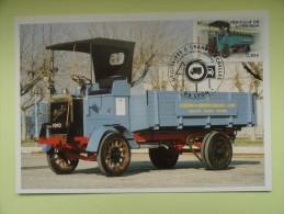 CARTE MAXIMUM CARD CAMION BERLIET TYPE M FRANCE - Camion