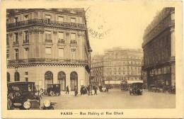 PARIS Cpa(75) Rue Halévy Et Rue Gluck    -carte Des Galeries Lafayette- - France