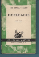 Jose Ortega Y Gasset MOCEDADES (en Espagnol) - Other