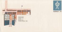 OPENING OF THE CAMBERRA  GPO AND THE AUSTRALIA POST PHILATELIC EXHIBITION 1983         (NUOVA) - Interi Postali