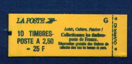 FRANCE - CARNET N° 2715 C 6  (DP) - Carnets