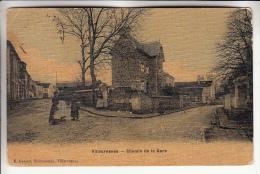 VILLECRESNES 94 - Chemin De La Gare - CPA Toilée Et Vernie - Val De Marne - Villecresnes