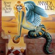 * LP *  AMANDA LEAR - NEVER TRUST A PRETTY FACE (Germany 1979 EX-!!!) - Disco, Pop