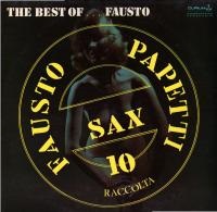 * LP *  FAUSTO PAPETTI - THE BEST OF FAUSTO (SAX 10 RACCOLTA) - Instrumental