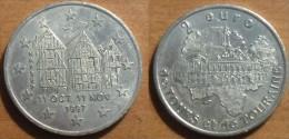 1997 - France - 2 EURO De Tours Et De Touraine, Mairie De Tours Et Maisons à Colombages - Frankrijk