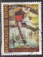 Benin, 2003 - 400fr Cercopithecus - Nr.1312 Usato° - Benin – Dahomey (1960-...)