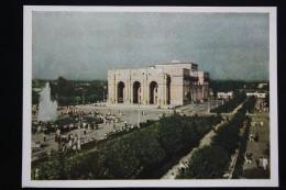 Uzbekistan. TASHKENT. Navoi Opera Theater. OLD PC 1953 - Rare! - - Uzbekistan