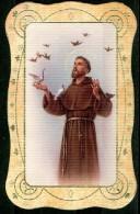 Santino - S. Francesco - Preghiera Semplice Di Padre Francesco. - Images Religieuses