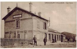 CPA DROCOURT VILLAGE (62): La Gare - Autres Communes