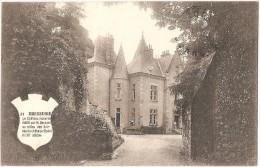Dépt 79 - BRESSUIRE - Le Château Moderne édifié Par M. Bernard Au Milieu Des Ruines Du Château Féodal Du XIIè Siècle - Bressuire