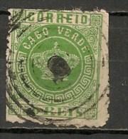 Timbres - Portugal - Cap Vert - 1877 - 50 Reis - - Cap Vert