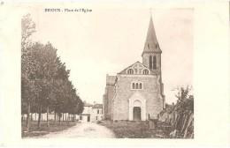 Dépt 79 - BRIOUX-SUR-BOUTONNE - Place De L'Église - Brioux Sur Boutonne