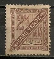 Timbres - Portugal - Cap Vert - 1893/95 - 2 1/2 Reis - - Cap Vert