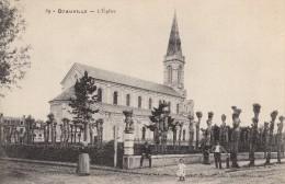 14 DEAUVILLE L'église - Deauville