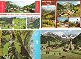 Österreich - 4 AK - Mittelberg - Kleines Walsertal - Kleinwalsertal - Vorarlberg - Kleinwalsertal