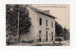 Mai15     6369216     La Gare De  Fontaines  Soings  à La Gaucherie - Altri Comuni