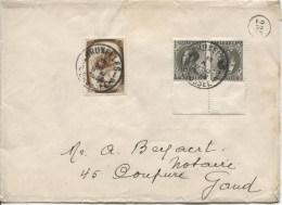 TP 488-KP16 S/L.c.Bruxelles En 1938 V.Gand PR2076 - Briefe U. Dokumente