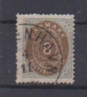 Danemark //  N 19  //  8 S Gris Et Brun // - 1864-04 (Christian IX)