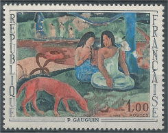 France, Arearea, Painting By Paul Gauguin, 1968, MNH VF - France
