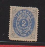 Danemark //  N 16  //  2 S Gris  //  NEUF Sans Gomme - Ungebraucht