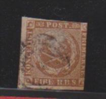 Danemark //  N 2  //  4  Brun Clair //  Oblitéré  //  Côte 100 € - 1864-04 (Christian IX)