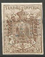 FISCAUX  DIMENSION TYPE MANTEAU IMPERIAL N° 7 - Revenue Stamps