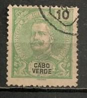 Timbres - Portugal - Cap Vert - 1898/1901 - 10 Reis - - Cap Vert