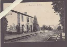 Machecoul - La Gare, Train Entrant - Machecoul