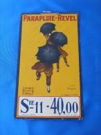 """Publicité Tôle """"PARAPLUIE REVEL"""" - Chemist's"""